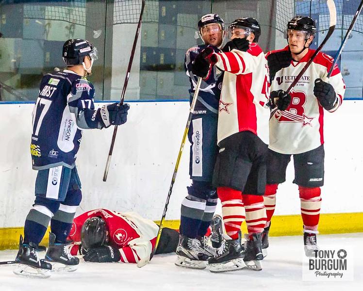 Billingham Stars Ice Hockey v Sheffield Steel Dogs