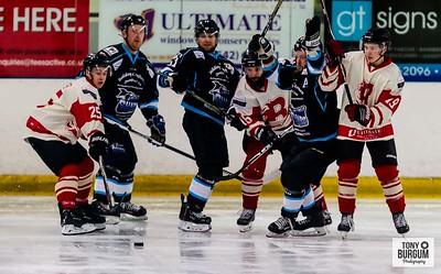 Billingham Stars v Solway Sharks at the Forum Ice Rink Billingham 22.09.2019