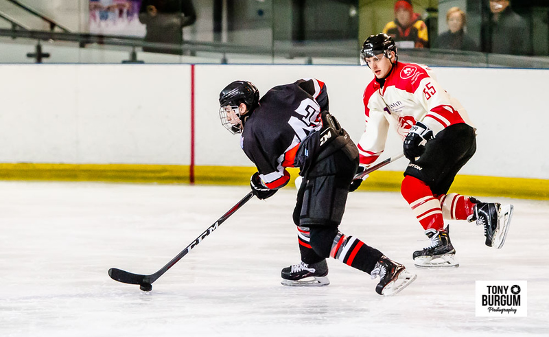 Billingham Stars v Blackburn Hawks at The Forum Ice Arena, Billingham. (Photographer Tony Burgum)  ©Tony Burgum