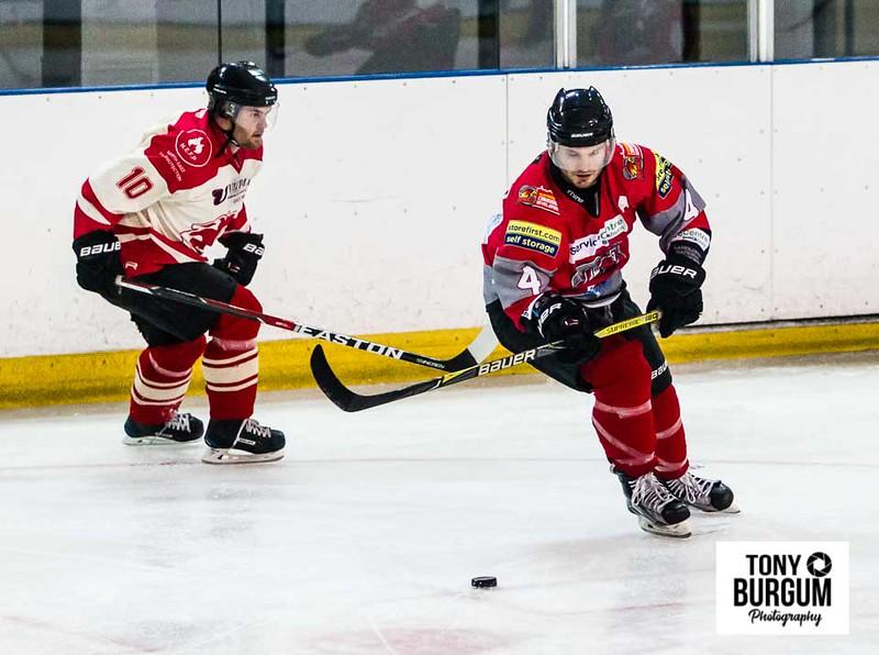 Billingham Stars v Blackburn Hawks.