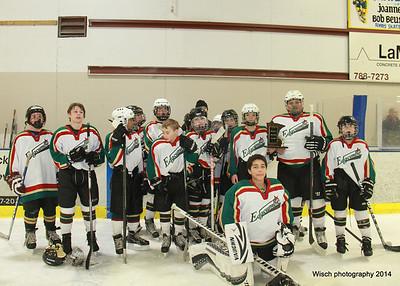Edgcumbe Hockey Feb 23rd 2014