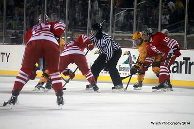 Gopher Men Hockey City Classic Jan 17 2014