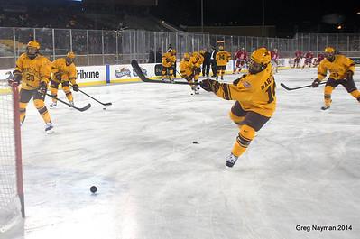 Mens Hockey City Classic 2014 by Greg Nayman