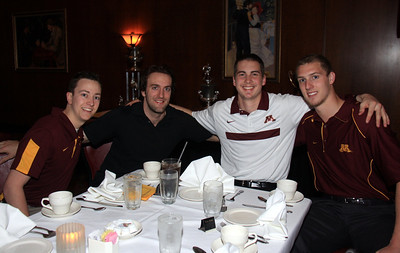 Gophers Hockey Banquet May 4th, 2012