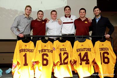 Men Gopher Hockey Banquet Mar 23rd, 2014