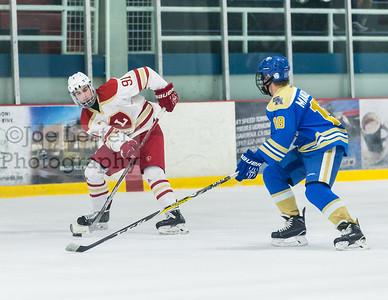 Orange Lutheran High School Hockey vs Santa Margarita 3-3-17 (photo: Joe Lester)