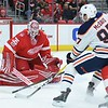 NHL: Edmonton Oilers at Detroit Red Wings