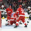 NHL: Minnesota Wild at Detroit Red Wings
