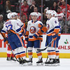 NHL: New York Islanders at Detroit Red Wings