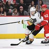 NHL: Vegas Golden Knights at Detroit Red Wings