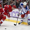 NHL: New York Rangers at Detroit Red Wings