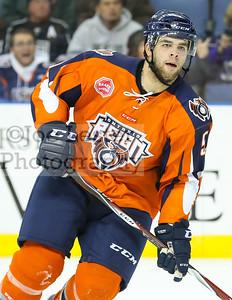 Ontario Reign vs Utah Grizzlies (ECHL Hockey) 12-12-14