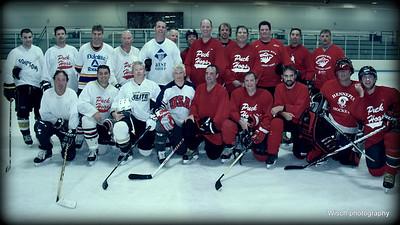 Red v White Hockey