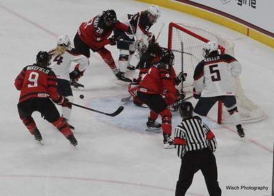 USA v Canada Womens Olympic Trial 2017