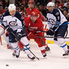 NHL: Winnipeg Jets at Detroit Red Wings