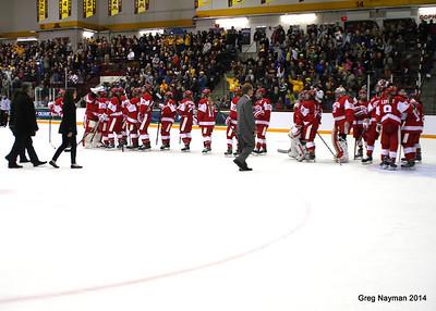 BU vs MN Womens Hockey by Greg Nayman March 2014