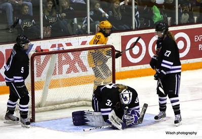 Gopher Womens Hockey Nov 17th, 2012