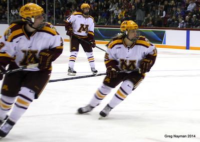 MN v BU Womens Hockey by Greg Nayman March 2014