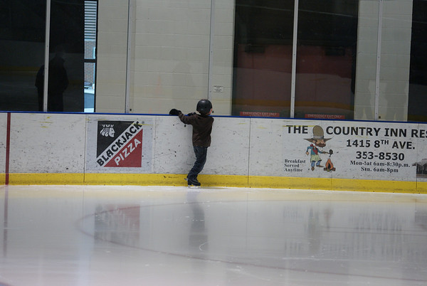 Ice Skating Aidan 2010