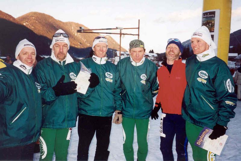 Gubbels ice skate team (weissensee)