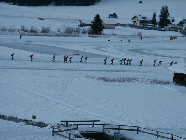 Alternatieve Elfsteden Tocht Temperature start -22 Celcius (weissensee)
