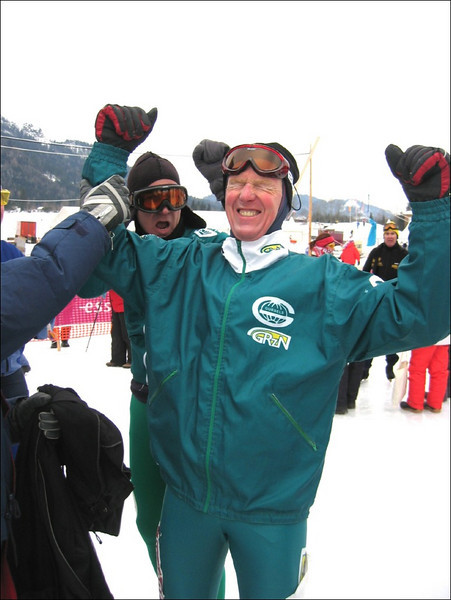 Harry finishing (Weissensee)
