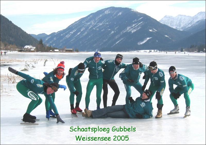 schaatsploeg gubbels (Weissensee)