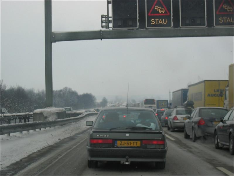 traffic jam (Germany)