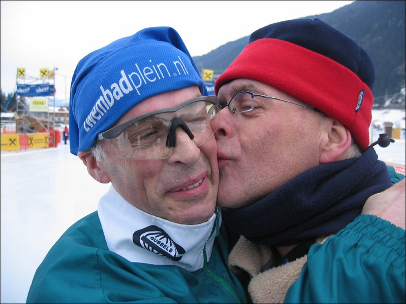 Brothers: Ruud and Mart (Weissensee)