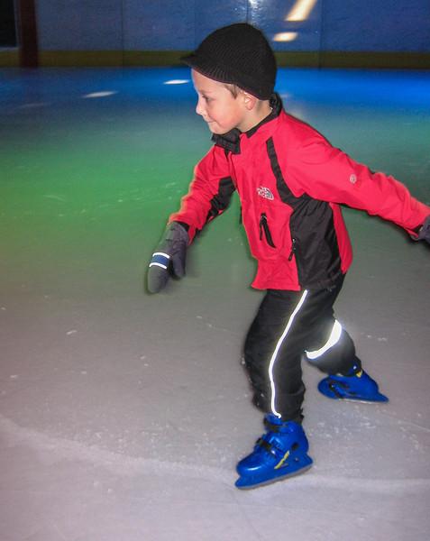 Stijn Indoor-skating at Ice Sport Center Eindhoven