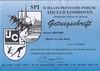 S.P.I. getuigschrift (seizoen 2004-2005)