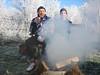 wood fire (Reewijkse plassen)