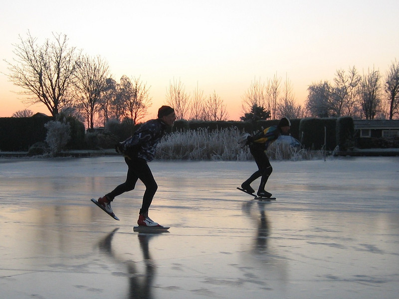 skating until darkness (Reewijkse plassen)