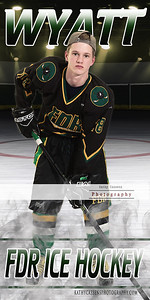 FDR Hockey Faceoff Individual Banner bb