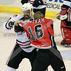 Icehogs Fight - Flinn vs Grantham