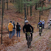 Record-Eagle/Keith King<br /> Matthew Wright Saturday, November 2, 2013 travels near Williamsburg Road during the 24th annual Iceman Cometh Challenge bicycle race.