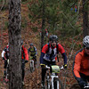 Record-Eagle/Keith King<br /> Riders travel Saturday, November 2, 2013 near Williamsburg Road during the 24th annual Iceman Cometh Challenge bicycle race.