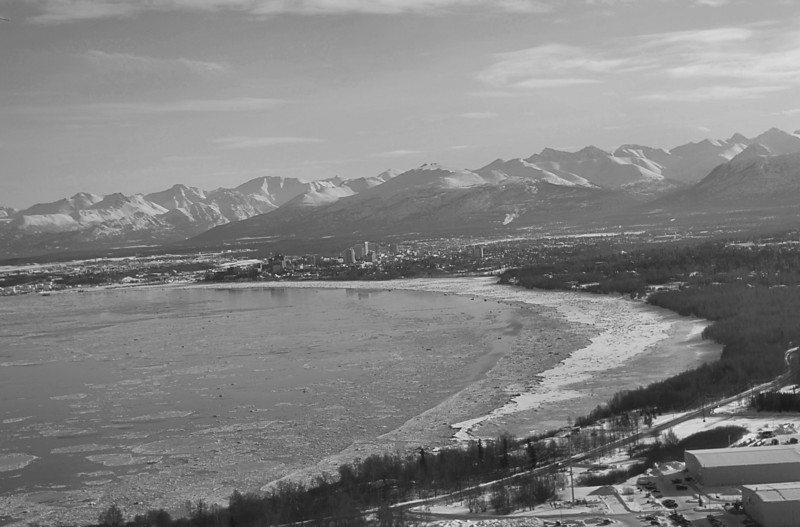 Leaving Anchorage on March 11