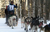 Gus Guenther of Clam Gulch ran his last Iditarod in 1998.  This is his third time on the trail.