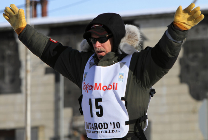 Jeff says this race, his 21st Iditarod, will be his last.  We'll see.