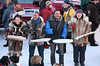 Inuit world fusion music group Pamyua celebrates the anticipated arrival of John Baker, the first Alaska Native to win the Iditarod.