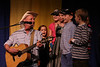 """Hobo Jim and friends entertain with a rousing rendition of """"I Did, I Did, I Did the Iditarod Trail."""""""