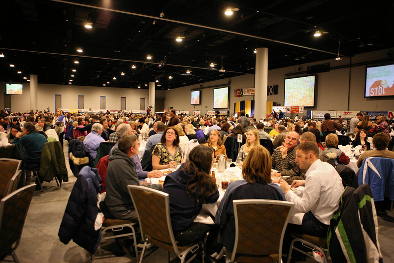 The Mushers' Drawing Banquet on March 4