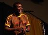 Newton Marshall of St. Anne, Jamaica.  One love, one mush.