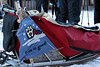 The sled of Norwegian Robert Sorlie, who won two out of his first three Iditarods.