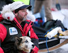 Musher Bruce Linton with a member of his team.