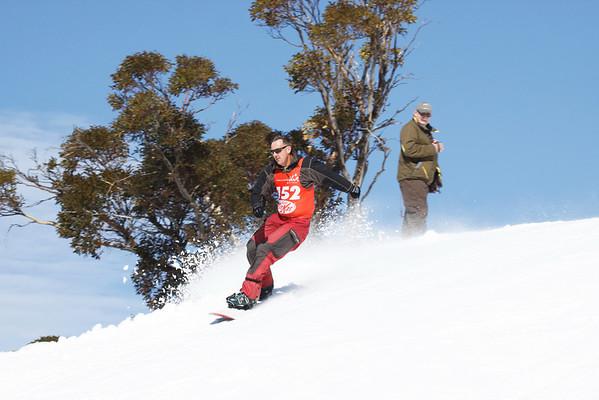Illawarra Interclub Races Snow Board 14.8.10