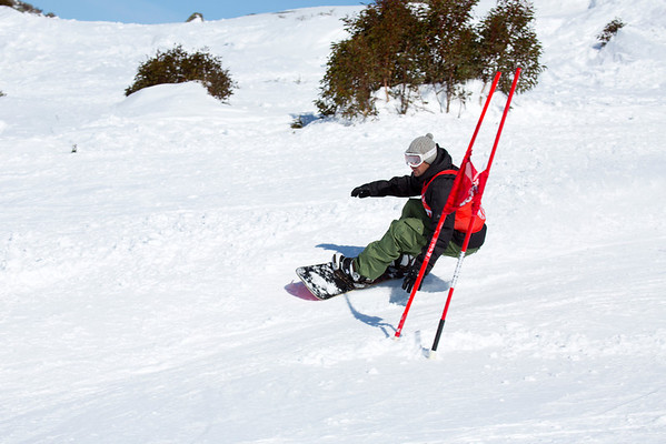 Illawarra Interclub Races Snow Board 11.8.12