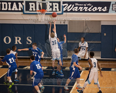 JV Boys Basketball 21Jan15