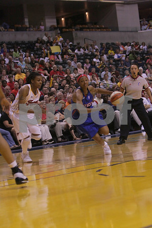 Indiana Fever vs Detroit Shock Playoff Game 1
